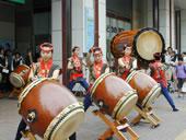 女性チームによる和太鼓演奏会
