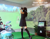 500円から、西荻窪駅前で気軽にゴルフ!カジュアルゴルフ ラボ -西荻ガーデン-